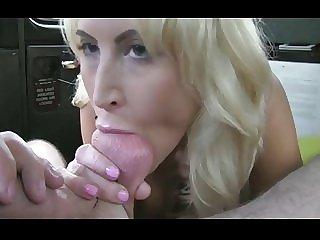 Brit Slut Takes Huge Facial