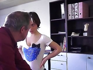 STP5 Cute Teen Cleaner Gives Grandpa A Fuck !