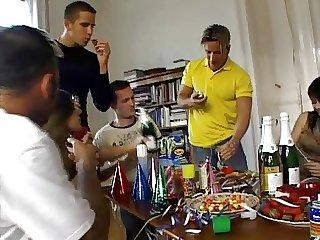 Hot &, Nasty Euro Sex Party!