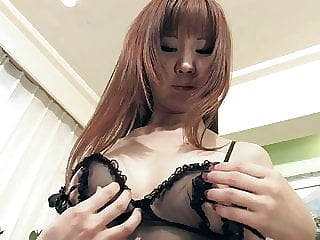 Busty young slut finger fucks her hairy pussy