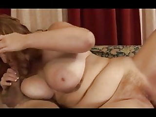 Big Titted Hairy Twatted Redhead Needs It