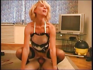 RUSSIAN MOM 13 mature with a young man