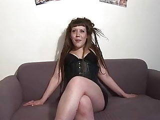 French Slut A40  casting 20 ans DP threesome