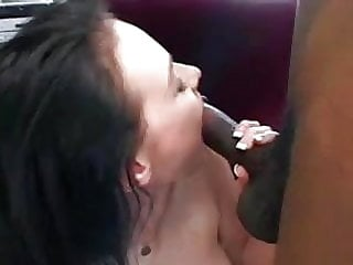 VERY Cute Milky White Skin Blue Eyed Brunette Bangs Black Guy! Watch Read Rate Comment!