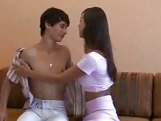 Fun In Russia - HOT Teen Couple 1