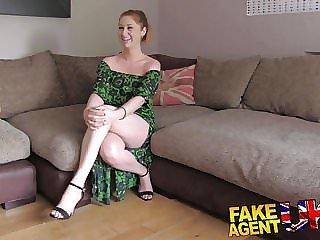 FakeAgentUK finger fucking ass licking and cumshot