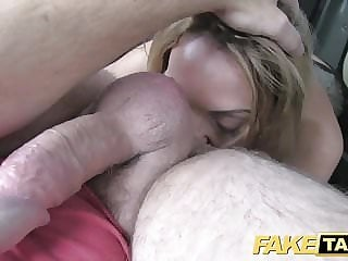 Fake Taxi hard sex and rimming before facial cumshot
