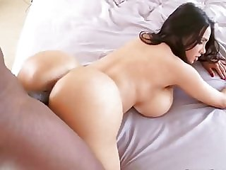 huge fake boobs vs big black cock