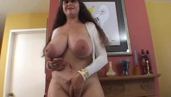 Huge tits huge areolas masturbating self suck