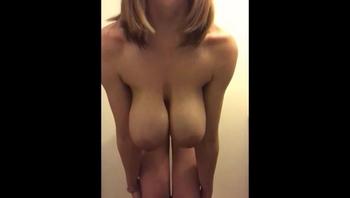 Saggy Big Tits Fucking Herself