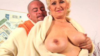 Monster boob mom brutal fucked by her toyboy