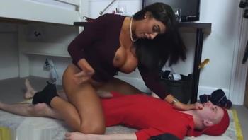 Big Tit Brit Step Mom