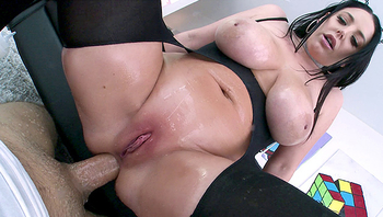 NYMPHO - Stuffing all of Angela White