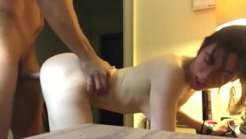 18yo babe with tight pussy likes big brothers cock