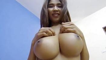 Lucky Guy Fucks Asian Girl With Big Boobs