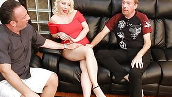Big Tit Russian Blonde Bimbo Creampie Eaten