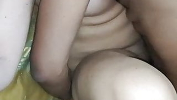 DESI wife shared with friend and hubby holding her hand.