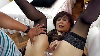 Beautiful fanatic lady, anal and facial sex compilation