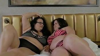 Monica Mazzaratie has bbw lesbian sex