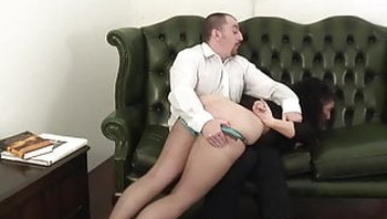 mature ass spanked