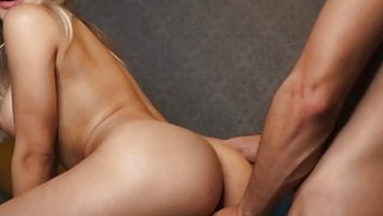 Hot couple doing a great romantic horny sex