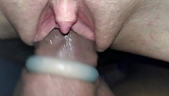 Sucking, squirting and fucking