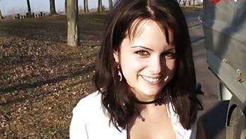 MyDirtyHobby - Arya LaRoca has public quickie with a stranger