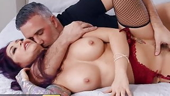 Tattooed Redhead Monique Alexander Gets Her Pussy Pounded