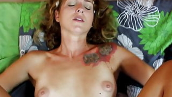 Cute german girl gets fucked a last time by her ex!!