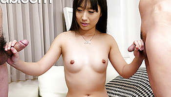 JAVHub Big butt Tomomi Honzawa has a threesome