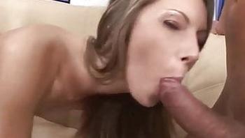 Blonde chick getting shagged hard - Threesome