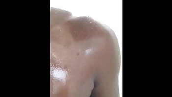 Black Girl in Shower on Periscope
