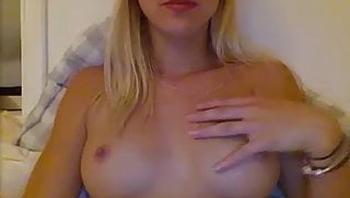 Cute dutch webcam girl showing off