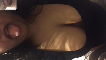 Horny NRI Girl Showing Her Big Boobs On Video Call