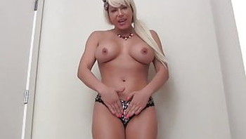 Jerk off to my hot body in nothing but a thong JOI