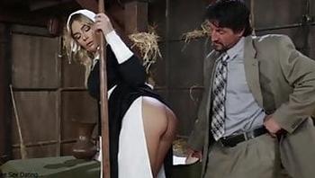 Farmer with Big Cock Fucks Tight Pussy Teen