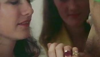 Danish Schoolgirls have a group sex orgy in classroom (1975)