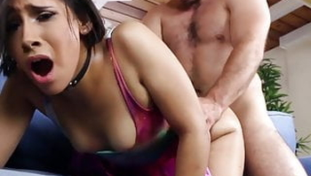 Hot Teen Step Daughter Fucked By Step Dad During Video Games