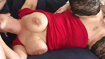 German DP, cum in the mouth and in the ass