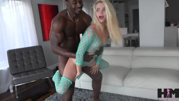 Hussie Auditions: Hot Tiny Blonde Teen Riley Star Takes her very first BBC