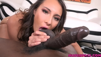 First Time Interracial Sex for Lilo Mai / 4K