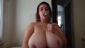 Smoking Fetish Alt Girl Big Tits