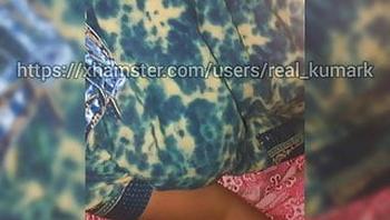 Fondling my tamil mamma's boobs