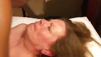 BBC Fucked Amateur American Granny to Orgasm