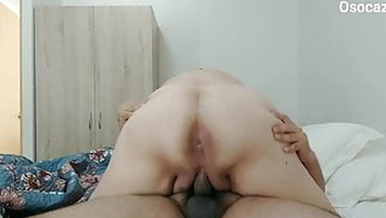 80YO GRANNY LUISA GETS DRILLED ON THE BED