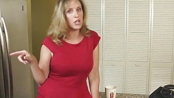 Mature Mom Fucked With Son In Bed