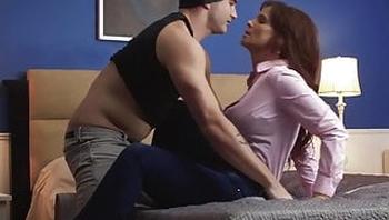 Sexy MILF ravaged by stepson