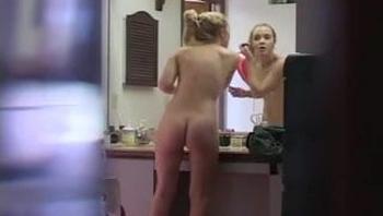 Admired Blond Voyeur Video 02