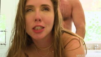 Lena Paul Busty Slut Gets An Anal Creampie From Manuel
